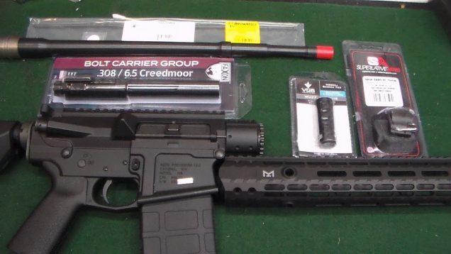 6 5  Creedmoor AR10 Build – The Components