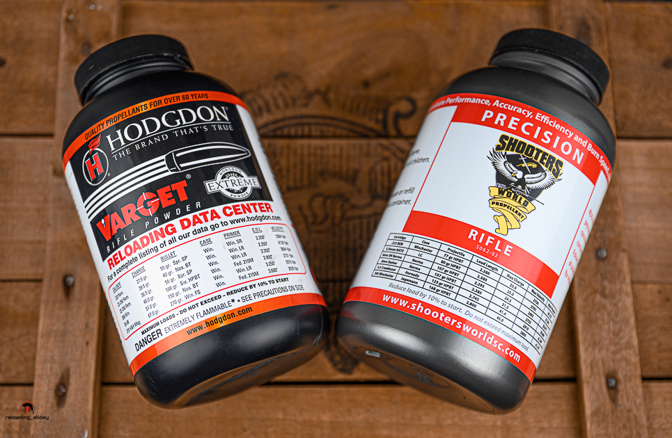 Hodgdon Varget VS Shooters World Precision 2