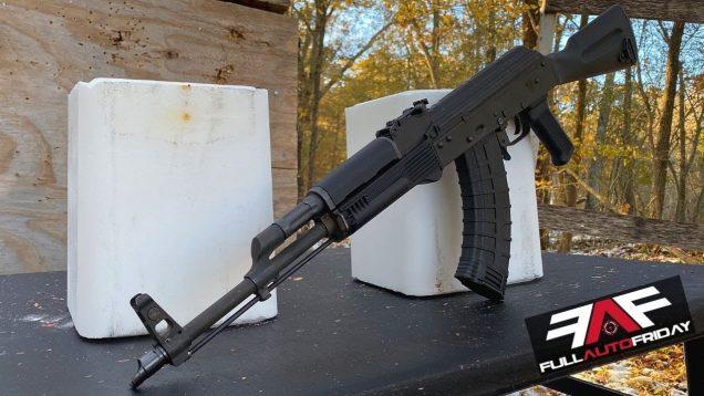 Full Auto Friday! AK-47 vs Salt Blocks 🧂