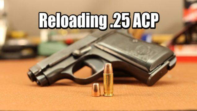 Reloading .25 ACP