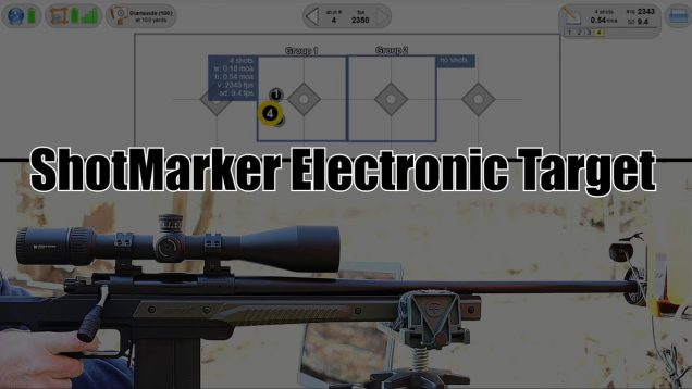 ShotMarker Electronic Target
