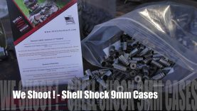 We Shoot! – 9mm Luger Shell Shock Steel Cases