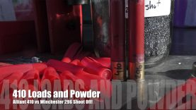 410 Loading – Powder Testing