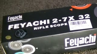 Feyachi 2-7×32 Scope Review