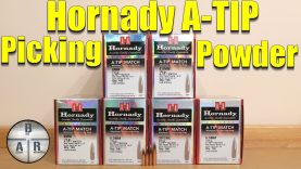 Hornady A-tip Powder selection – Picking powders for the 110, 135, 153 and 230gr A-tips