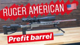 Ruger American Prefit Barrel, Preferred Barrels Replacement!
