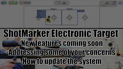 ShotMarker Update