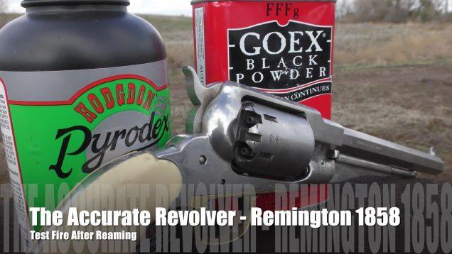 The Accurate Revolver – Remington 1858 Shoot!