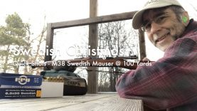 WCChapin   Swedish Christmas – Quick Shots with the M38 Swedish Mauser at 100 Yards