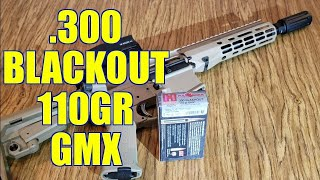 300 Blackout 110gr Hornady Full Boar GMX