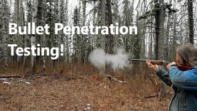 Bullet Penetration Testing: Ruger No. 1 in 45-120 versus 44 Mag versus 243 Winchester