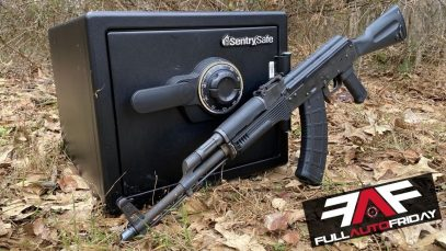 Can You Open A Sentry Safe With An AK-47 ??? (Full Auto Friday!)
