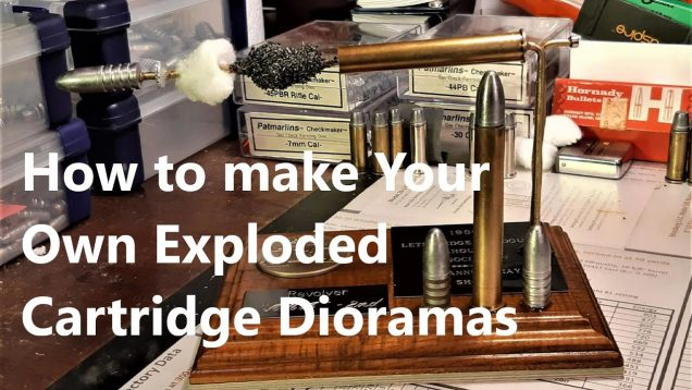 How To Make an Exploded-View Cartridge Diorama
