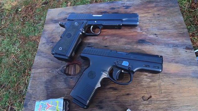 Steyr M9 vs Para-Ordnance LDA Nite-Tac .45 ACP 14+1 Rounds Covert Black