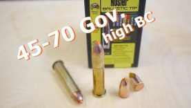 45-70 Government – the modern way with Nosler bullets