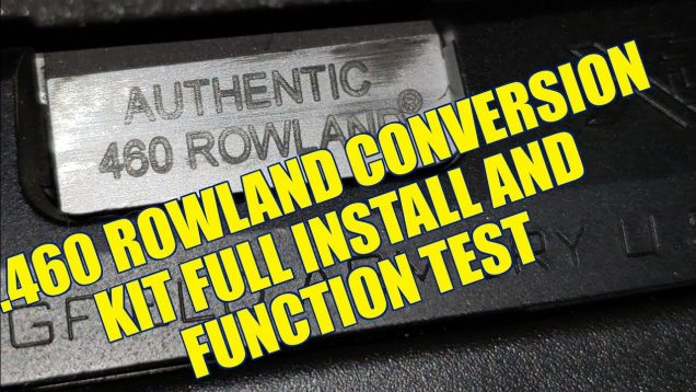 .460 Rowland Kit Full Install and Function Test Springfield XDM 45 REVIEW