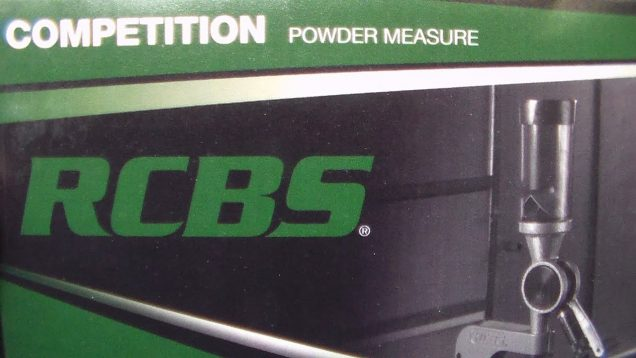 RCBS Competition Pistol Powder Measure