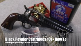 The Accurate Revolver – Loading Cimarron – 44 -40 Uberti Single Actions
