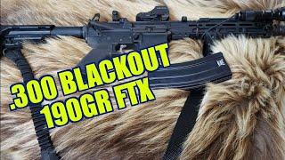 .300 Blackout Hornady 190gr FTX
