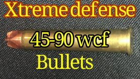 45-90 1886 Winchester launching the Xtreme Defense 225 grain bullet at 2913 FPS