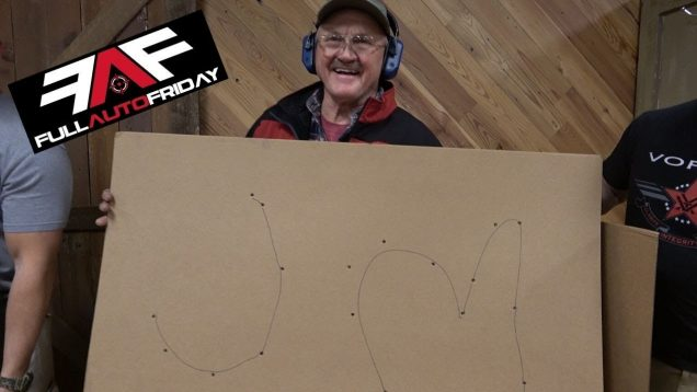 Can You Write With A Full Auto? (ft. Jerry Miculek & The Gould Brothers) (Full Auto Friday)