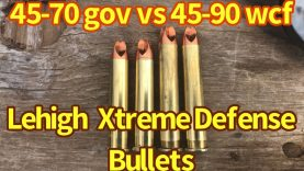 Extreme Defense 225 grain bullets 45-70 and 45-90