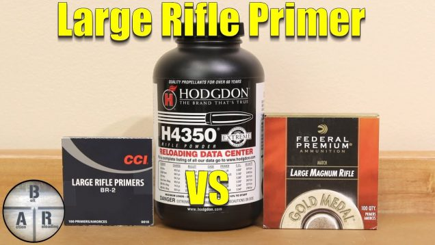 Large Rifle Primer – Evaluating H4350 in .30-06 Springfield