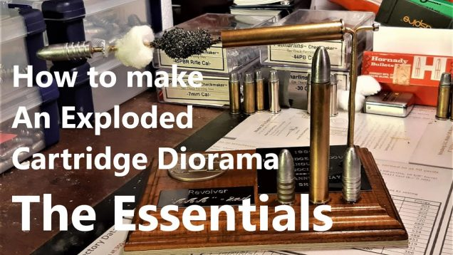 Staying Home Due to the Coronavirus Quarantine?  Make Yourself This Exploded-view Cartridge Diorama!