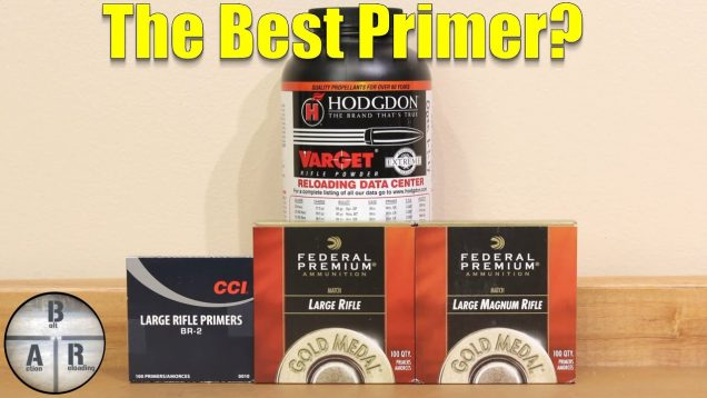 The Best Primer for Hodgdon Varget – .30-06 Springfield
