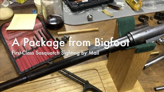 WCChapin | A Package from Bigfoot – First-Class Sasquatch Sighting by Mail