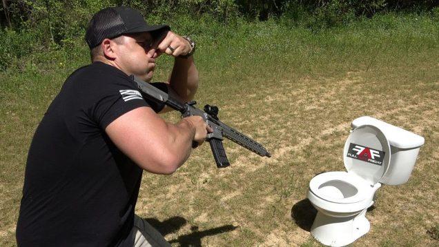 458 SOCOM vs AK-47 vs Toilets 🚽 (Full Auto Friday)