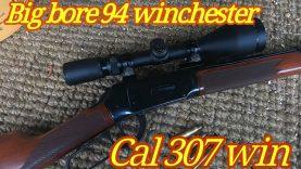 Big bore 94 Winchester in 307 Win cal 160 grain FTX