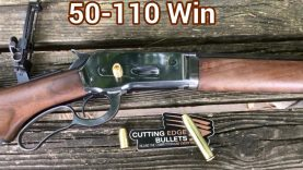 Cutting Edge 350 grain Raptor VS water, out of the 50-110 WCF, the big boy of the 1886