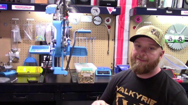 Dillon XL 750   Powder Check  10 mm    Part 11