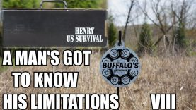 Henry U.S. Survival Rifle ~ A MAN'S GOT TO KNOW HIS LIMITATIONS VIII