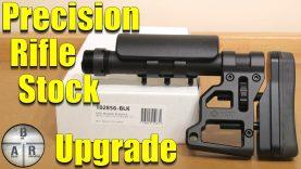 Precision Rifle Stock Upgrade – MDT Skeleton Carbine Stock