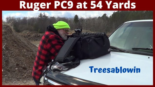 Ruger PC9 52 yards