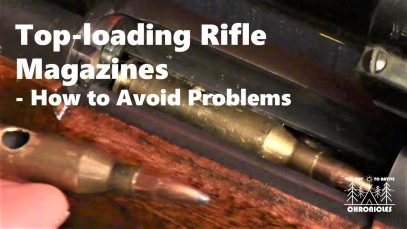 Top loading Rifle Magazines – How to Avoid Problems