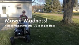 WCChapin | Mower Madness! – Harbor Freight Predator 173cc Engine Hack