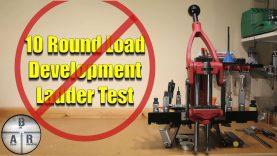 10 Round Load Development Ladder Test – 3 Data Driven Examples