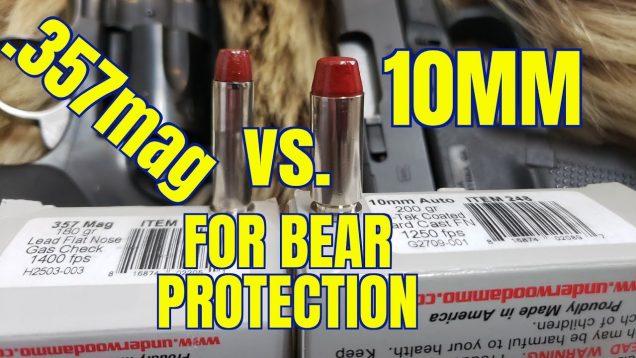 10mm vs .357 Magnum for Bear Protection in Alaska