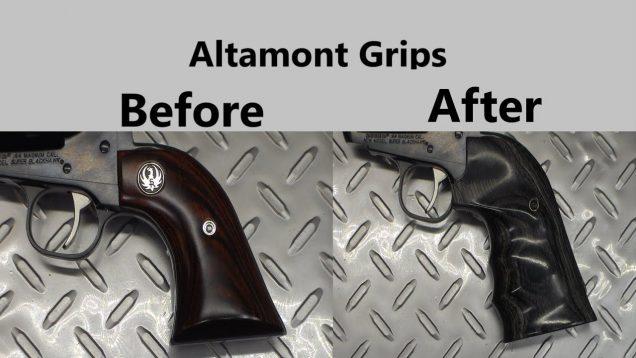 Altamont Grips for the Ruger Super Blackhawk