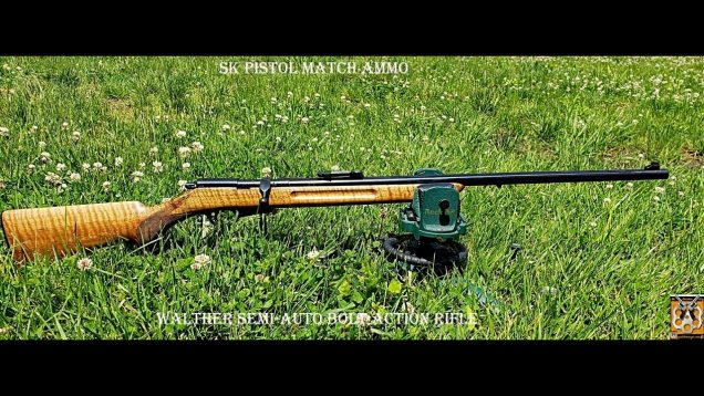 Walther Model 2 Semi-Auto – Bolt Action Rifle