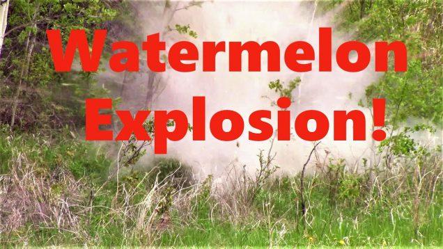Watermelon Explosion!