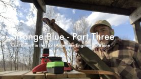 WCChapin | Strange Blue – Part Three…Cast Bullets in the 1891 Argentine Engineer Carbine