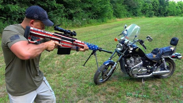 50 Cal vs Motorcycle 🏍