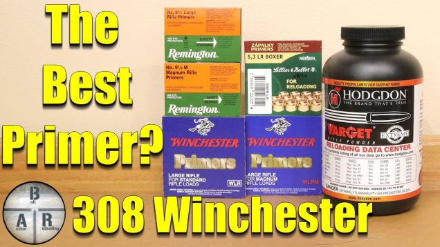 Large Rifle Primer Evaluation using 308 Winchester
