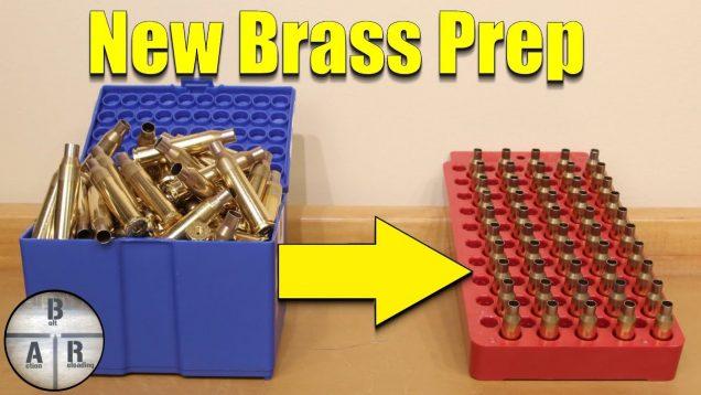 Precision Rifle Load Development – New Brass Prep