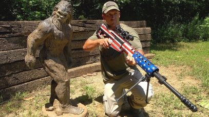 50 Cal vs Bigfoot (Solid Concrete)