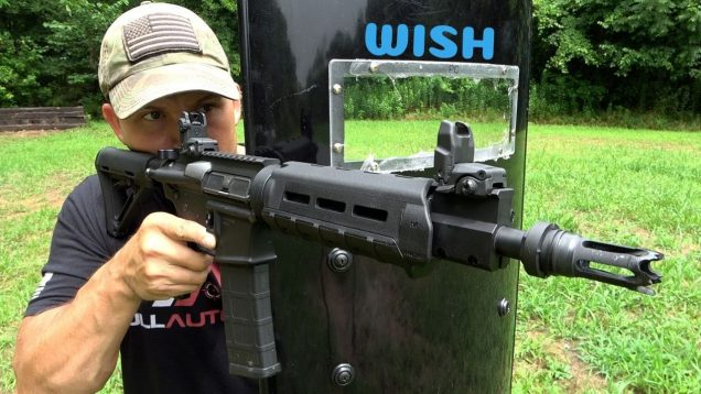 Testing A Wish Shield (Full Auto Friday)